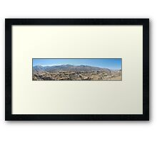 Colca Canyon Framed Print
