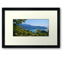 Ilha Grande Framed Print