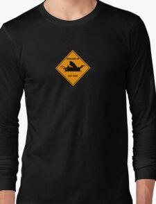 Fizz Ulti Australian sign style Long Sleeve T-Shirt