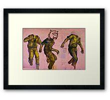 Lionman Framed Print