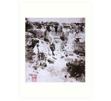 Canyon Flight 2 - Canyon de Chelly Art Print