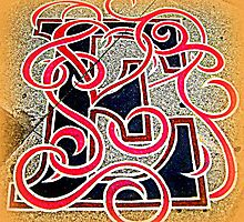 Letter E by VicTOr Fraser by ©The Creative  Minds