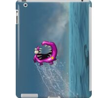 Mad Pink Fish Crazy Jump iPad Case/Skin