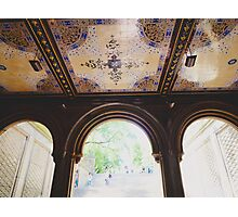 Bethesda Terrace in Central Park Photographic Print