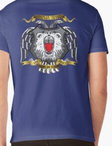 Fight Or Flight Gym Wear Lions Logo Mens V-Neck T-Shirt