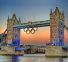 London Tower Bridge Sunset by Phil Clements