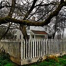 Fiechter House ~ 1855 ~ by Charles & Patricia   Harkins ~ Picture Oregon