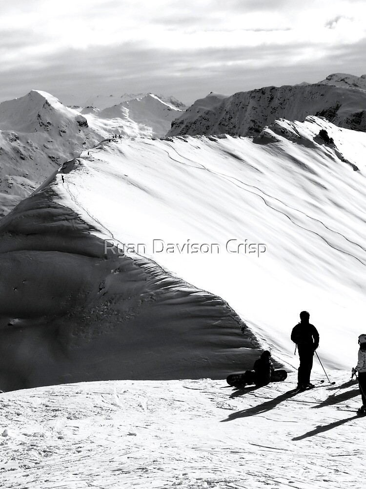 Hiking for Lines by Ryan Davison Crisp
