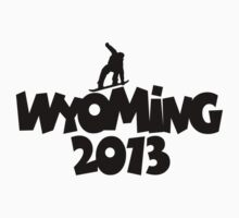 Wyoming 2013 Snowboard by theshirtshops