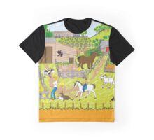 In the Farm Yard Graphic T-Shirt