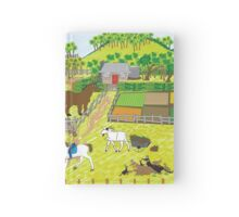 In the Farm Yard Hardcover Journal