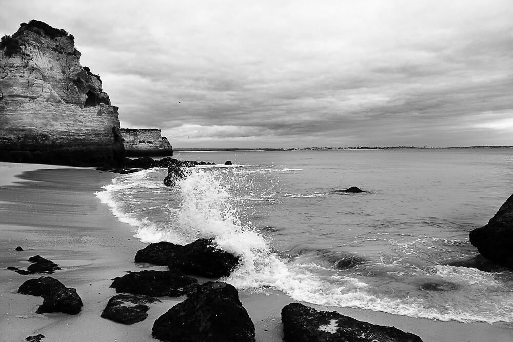 Low Tide low cloud. by Paul Pasco