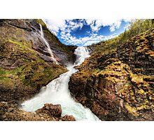 Flam Waterfall Photographic Print