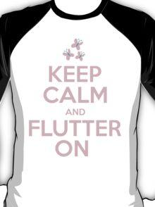Keep Calm and Flutter On T-Shirt