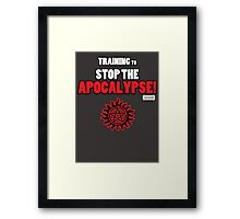 The Winchesters - Training to Stop the Apocalypse! Framed Print