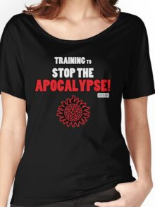 The Winchesters - Training to Stop the Apocalypse! Women's Relaxed Fit T-Shirt