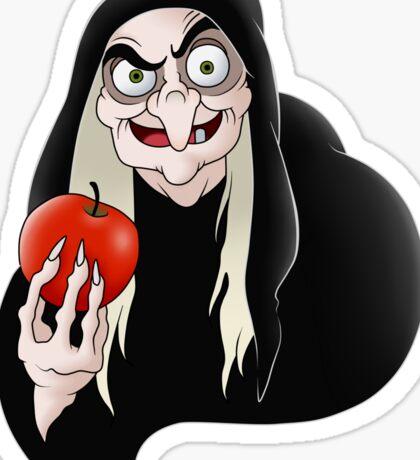Evil queen witch  Sticker
