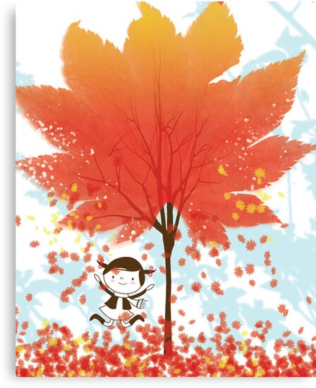 It's Raining Leaves! by Holly Hatam