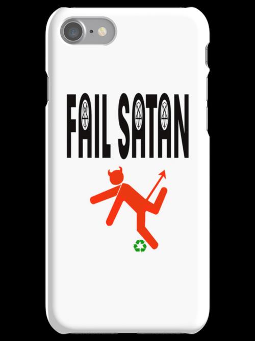 Fail Satan - May Evil fail by Recycling by Lena Ståhl