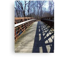 Cross Over the Bridge Canvas Print