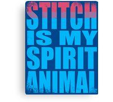 Stitch is my Spirit Animal Canvas Print