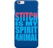 Stitch is my Spirit Animal iPhone Case/Skin