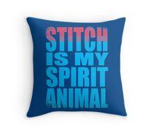 Stitch is my Spirit Animal Throw Pillow