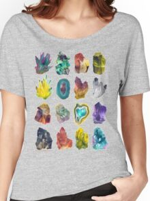 Crystals Women's Relaxed Fit T-Shirt