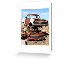Old Holdens-Gone but not forgotten Greeting Card