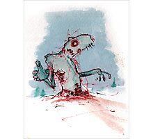 Tundra Zombie Photographic Print