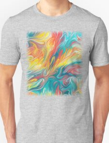 Abstract Colors II Unisex T-Shirt