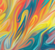 Abstract Colors II Sticker