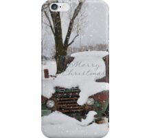 Idaho Country Christmas iPhone Case/Skin