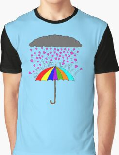Rain of Love Graphic T-Shirt