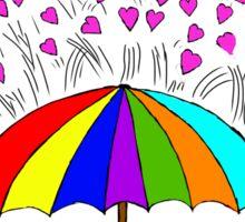 Rain of Love Sticker