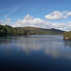 Burrator Reservoir, Dartmoor by Matthew Folley