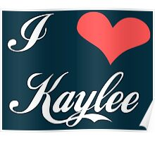 Firefly: I Heart Kaylee for Dark Backgrounds Poster
