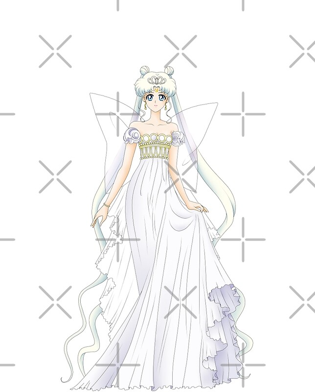 "Neo Queen Serenity Crystal: Sailor Moon Crystal"" Graphic T"