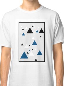 Triangle Blue - 1 Classic T-Shirt