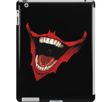 batman and joker smile iPad Case/Skin