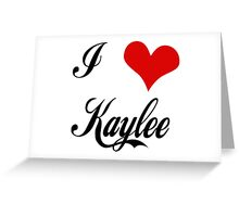 Firefly: I love Kaylee Greeting Card