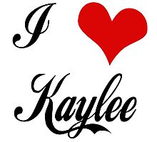 Firefly: I love Kaylee Photographic Print