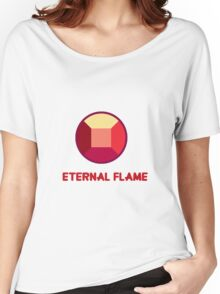 Eternal Flame - Ruby from Steven Universe Women's Relaxed Fit T-Shirt