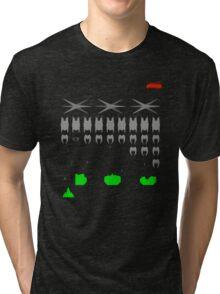 Battlestar Galactica Space Invader Tri-blend T-Shirt