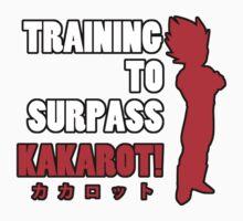 Vegeta - Training to Surpass Kakarot! 2.0 Kids Clothes
