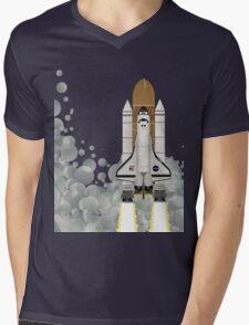 Space Shuttle Mens V-Neck T-Shirt