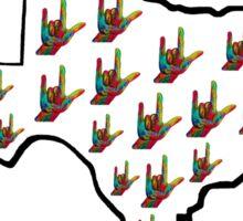 ASL - Texas Sticker