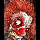 zombie clown by byronrempel