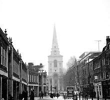 Christ Church Spitalfields - London by MaggieGrace