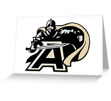 United States Military Academy Black Knights Greeting Card